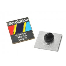 PTSD-Resolution Enamel Badge
